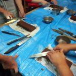 名古屋市内 包丁研ぎ教室