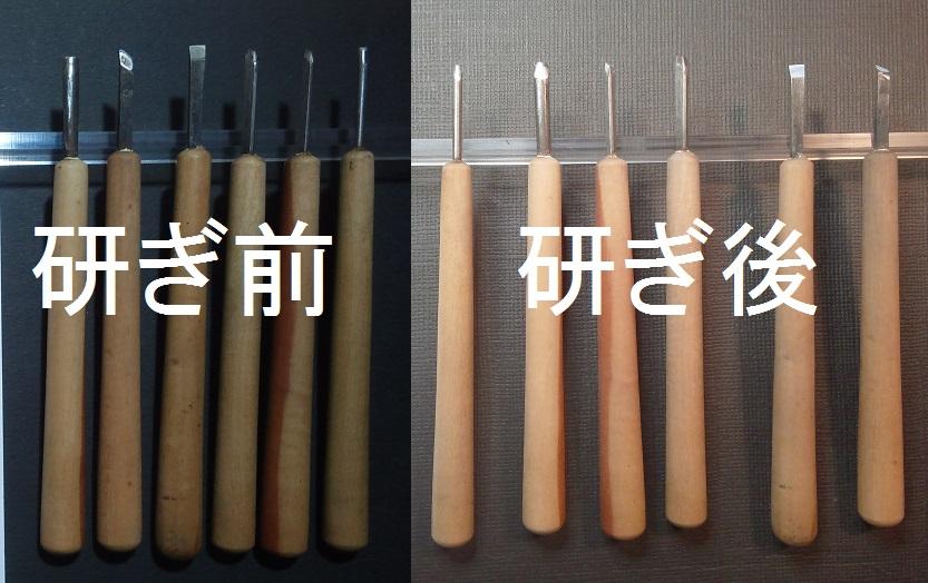 彫刻刀を名古屋「研ぎや大須」にて研ぎ直し