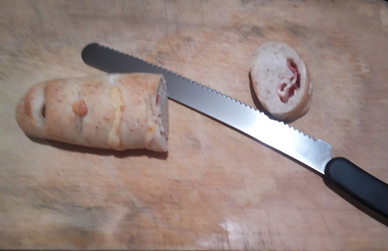 パン切ナイフを名古屋「研ぎや大須」にて研ぎ直し