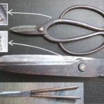 刈込鋏を名古屋「研ぎや大須」にて研ぎ直し