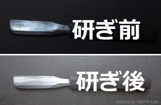 剃刀を名古屋「研ぎや大須」にて研ぎ直し。