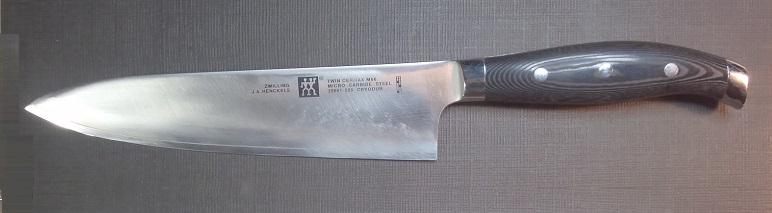 牛刀を名古屋「研ぎや大須」にて研ぎ直し。
