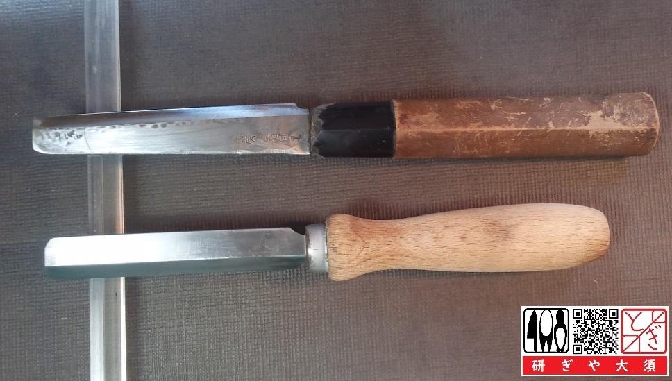 鰻裂き包丁とリードナイフ