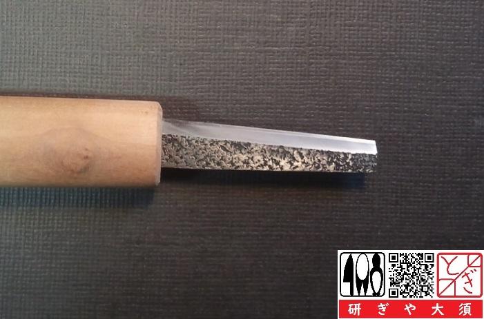 リードナイフを名古屋「研ぎや大須」にて研ぎ直し